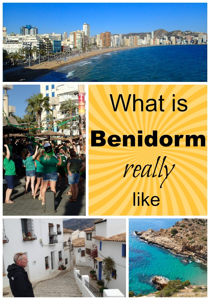 What is it really like in Benidorm, Spain. Is it all stag parties and loud bars, or is there another side to Benidorm that makes it ideal for the motorhomer, the senior looking for a long stay vacation or winter sunshine. There is more to Benidorm than you might imagine and we sere surprised that we found so much there to do for the more mature traveller. Walking and hiking, old towns to visit and more in this article. #Benidorm #Spain #TravelBlog
