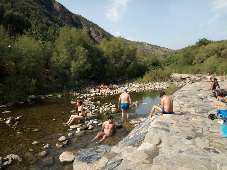 Arnedillo hot springs