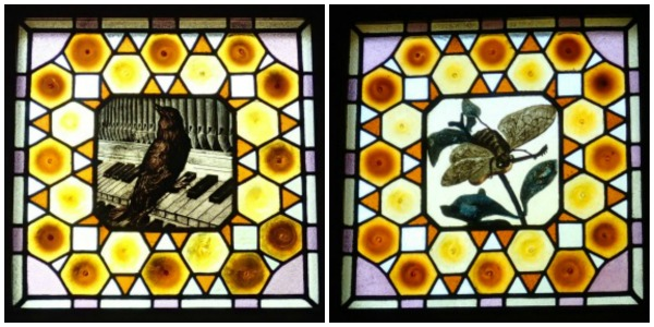 Gaudi's Caprice stained glass