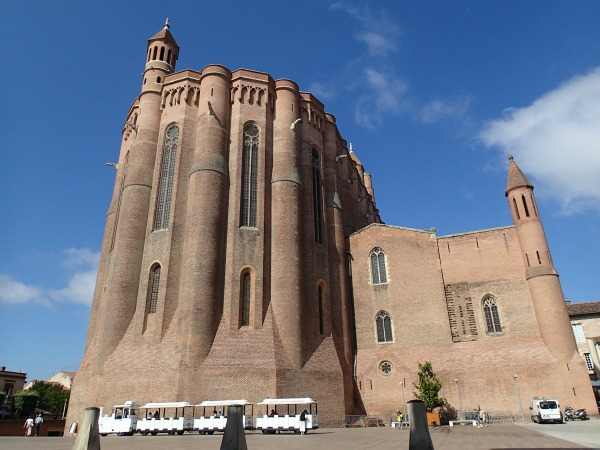 Albi Cathedral France - the largest brick building in the world.