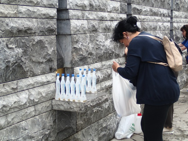 Lourdes holy water 2019.